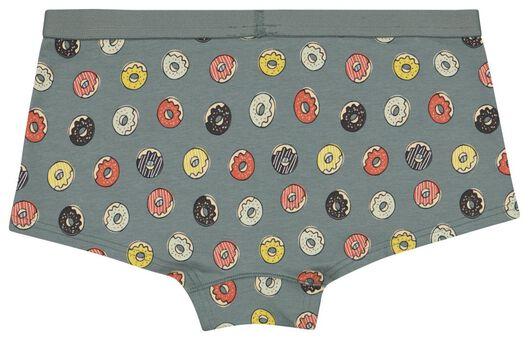 tienerboxer donut groen 170/176 - 21920543 - HEMA