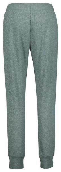 dames pyjamabroek viscose groen L - 23422073 - HEMA