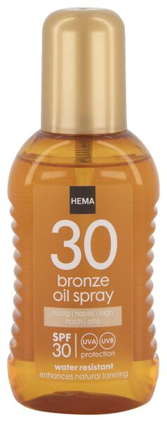 bronze oil 200 ml SPF30 - 11610170 - HEMA