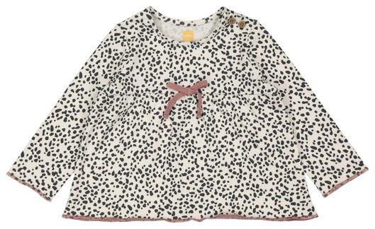 newborn setje tuniek en legging oudroze oudroze - 1000022126 - HEMA