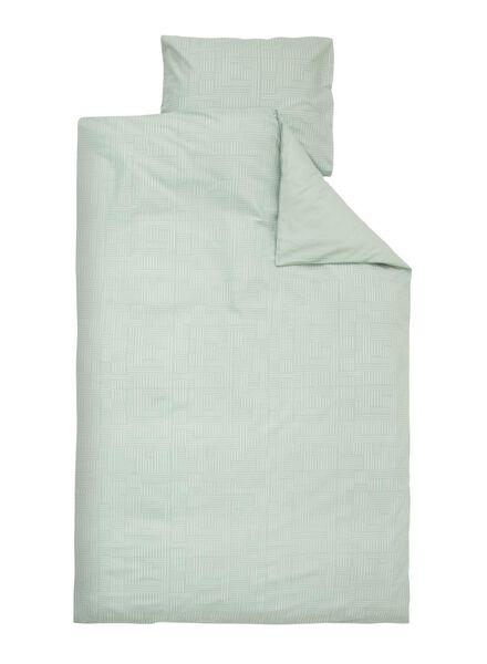 soft cotton dekbedovertrek 140 x 200 cm - 5750013 - HEMA