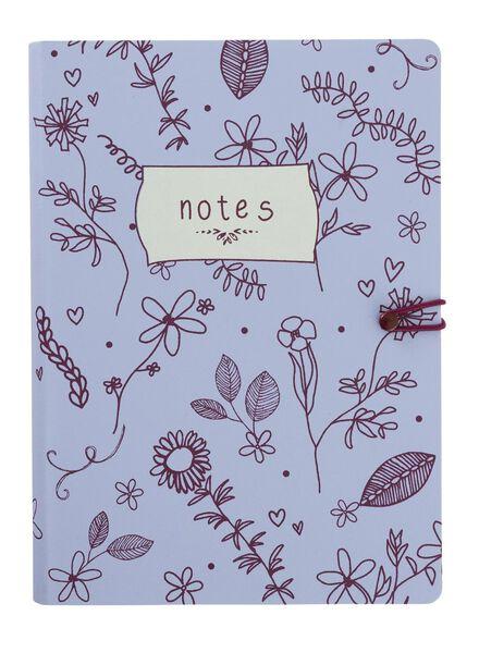 notitieboek A5 gelinieerd - 14160183 - HEMA