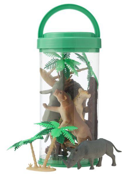 jungledieren set - 15100070 - HEMA