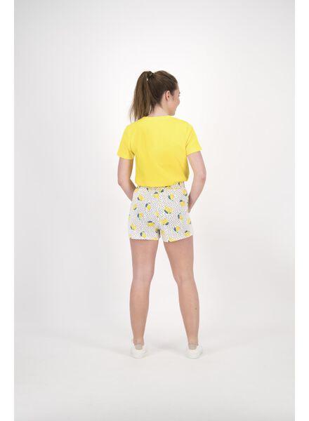 dames t-shirt geel geel - 1000013893 - HEMA