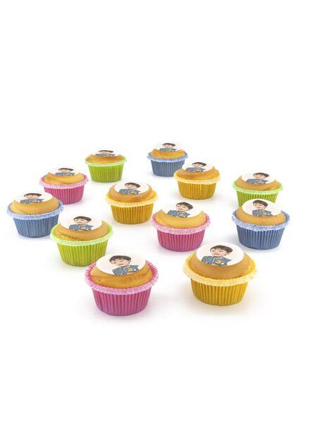 fotocupcake vanille 12 stuks - 6330029 - HEMA