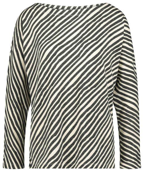 dames t-shirt zwart - 1000021488 - HEMA