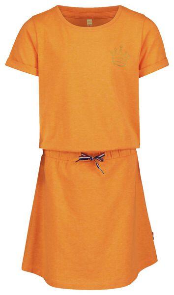 kinderjurk oranje 98/104 - 30828220 - HEMA