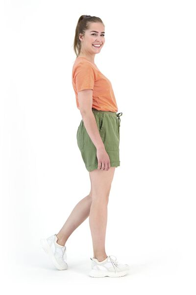 dames t-shirt oranje oranje - 1000019875 - HEMA