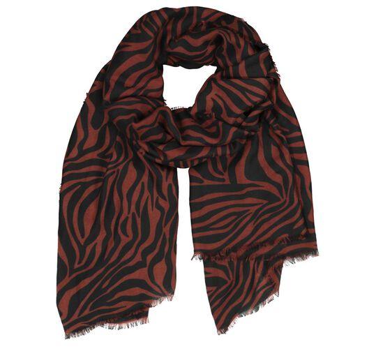 damessjaal 200x80 zebra - 1790014 - HEMA