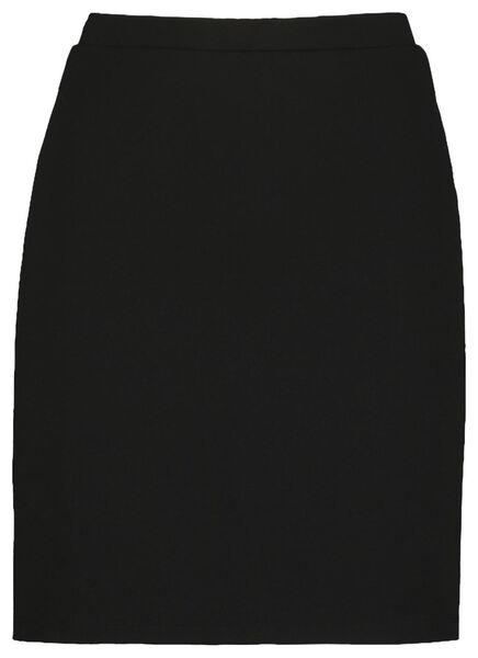 damesrok zwart zwart - 1000019343 - HEMA