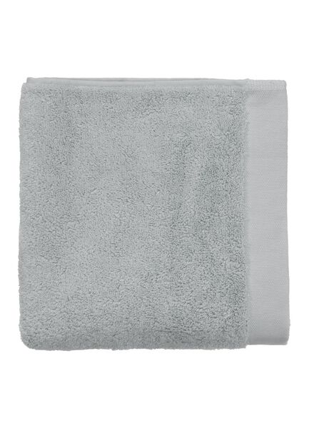 handdoek - 50 x 100 cm - hotel extra zacht - lichtgrijs uni - 5240071 - HEMA