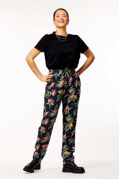 dames t-shirt zwart M - 36394782 - HEMA