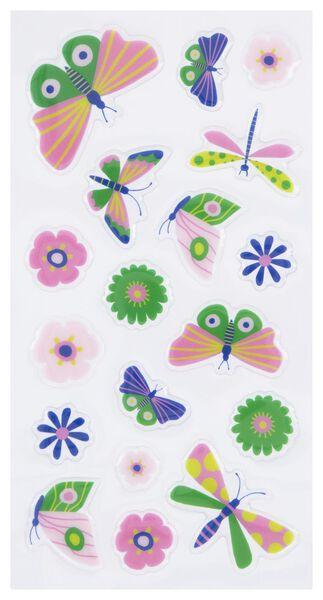 stickervel vlinders - 2 stuks - 14700459 - HEMA