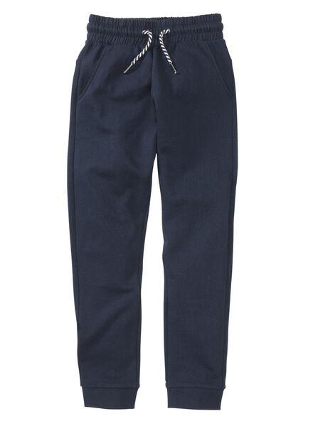 kinder sweatbroek donkerblauw donkerblauw - 1000004030 - HEMA