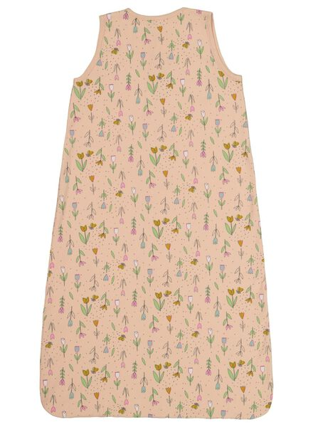 babyslaapzak non-padded - mouwloos - tulpen lichtroze 86/104 - 33301622 - HEMA