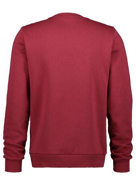 herensweater Viktor&Rolf rood rood - 1000016938 - HEMA