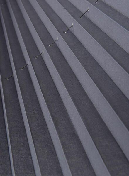 plisségordijn uni vlamvertragend 20 mm - 7430036 - HEMA