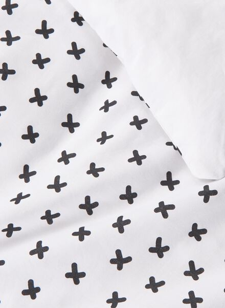 soft cotton dekbedovertrek 240 x 220 cm - 5750106 - HEMA