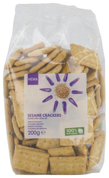 Sesamcrackers 200gram