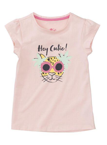 kinder t-shirt roze roze - 1000013421 - HEMA
