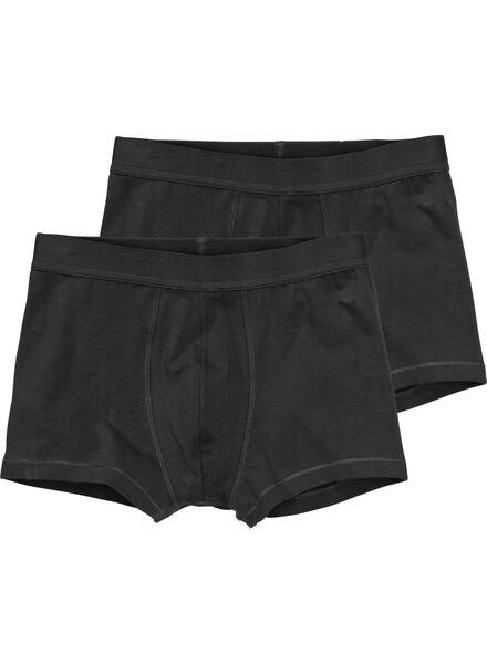 2-pak RLC short boxer zwart zwart - 1000001043 - HEMA