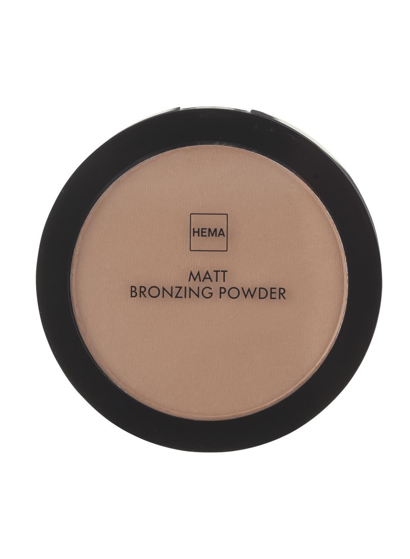 HEMA Matt Bronzing Powder Dark