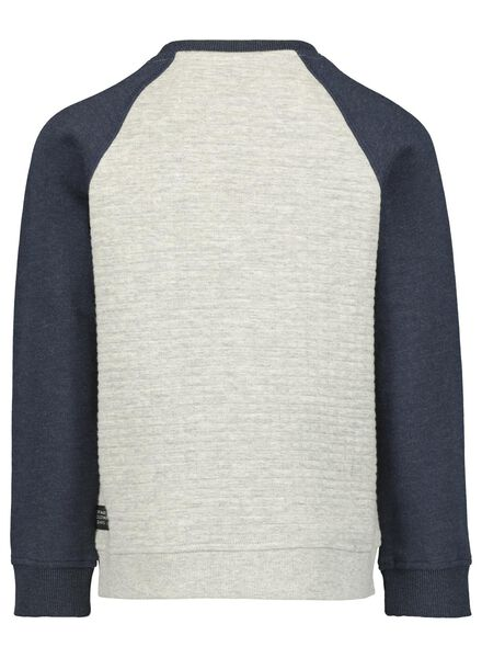kindersweater grijsmelange grijsmelange - 1000016844 - HEMA