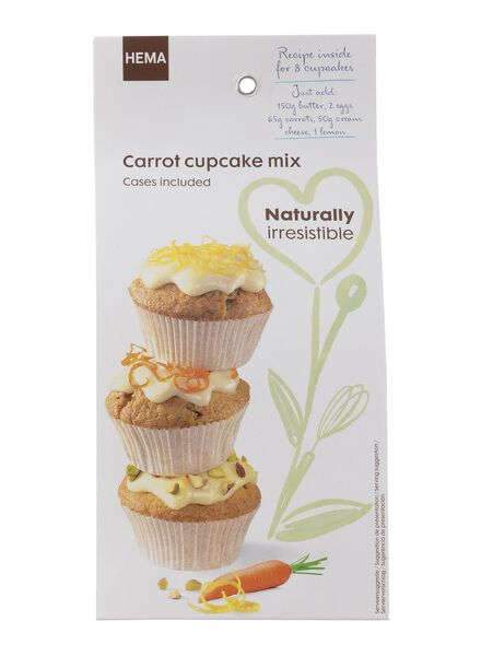 wortel cupcake mix - 10260024 - HEMA