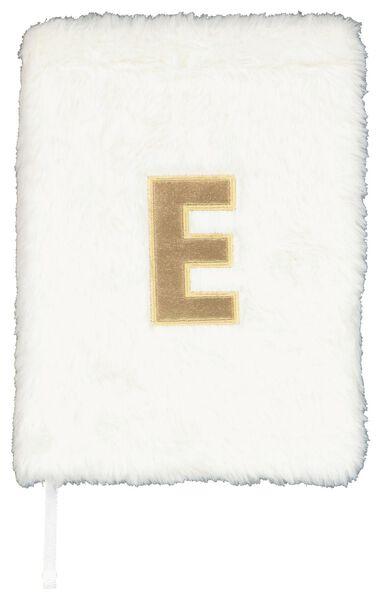 Notitieboek A5 fluffy letter E