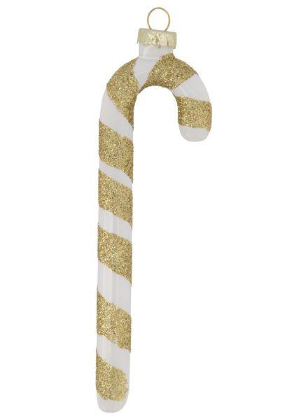 hanger 12.5x4 glas zuurstok - 25104835 - HEMA