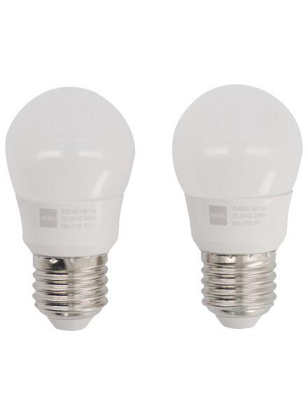 LED lamp 25W - 250 lm - kogel - helder - 20090036 - HEMA