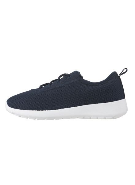 kinder sneakers blauw blauw - 1000012602 - HEMA