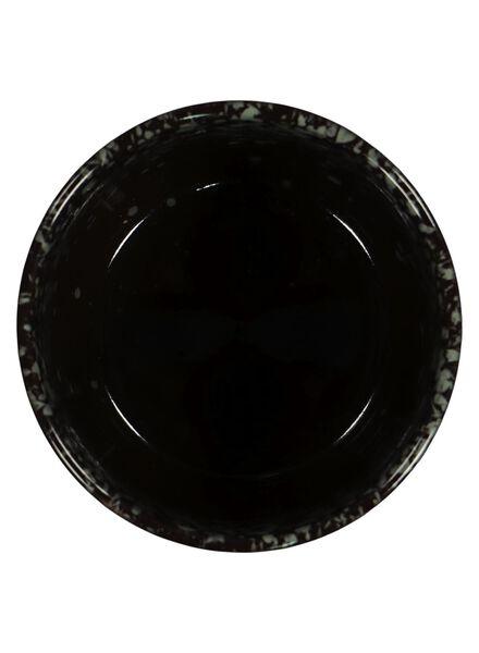 bloempot - 13 x Ø 12.5 cm - groen reactief glazuur - 13391062 - HEMA