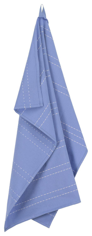 HEMA Theedoek - 65 X 65 - Katoen - Blauw Streep
