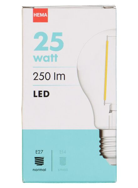 LED lamp 25W - 250 lm - peer - helder - 20020007 - HEMA