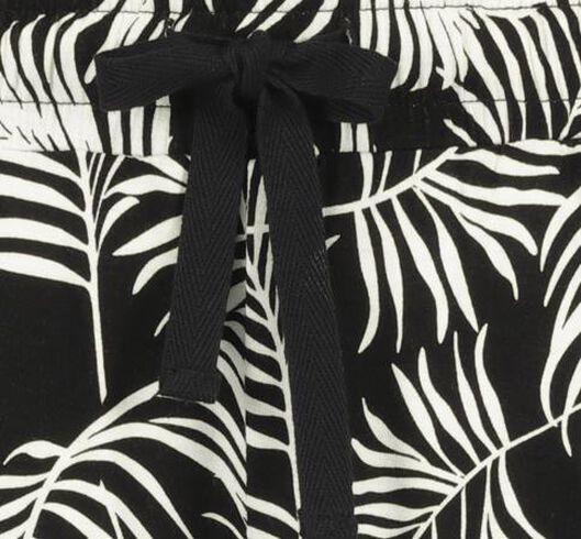 damesbroek zwart/wit zwart/wit - 1000019438 - HEMA