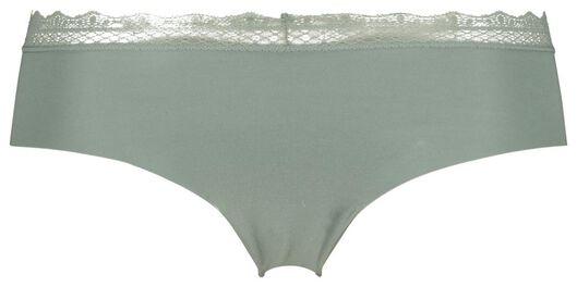 dameshipster katoen kant groen groen - 1000020858 - HEMA