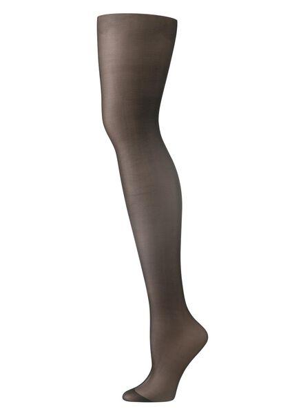 panty fluweelzacht 15 denier - zwart zwart zwart - 1000008117 - HEMA