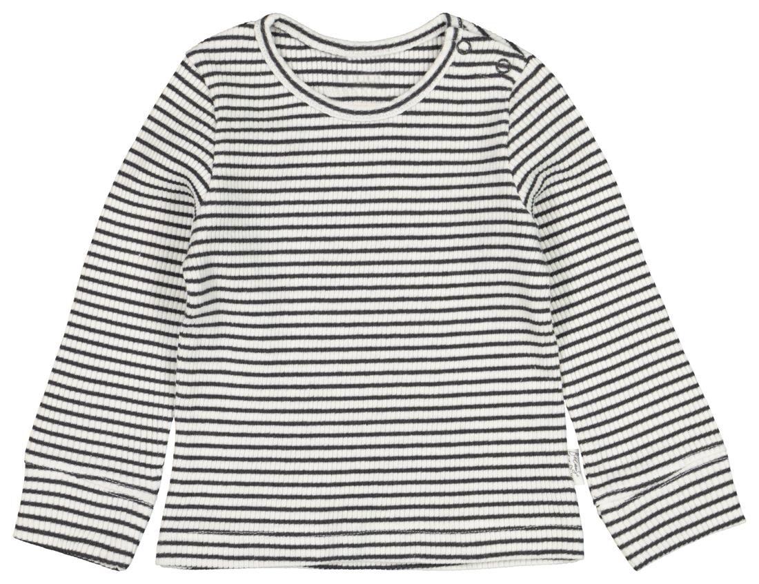 HEMA Newborn T-shirt Rib Wit (wit)