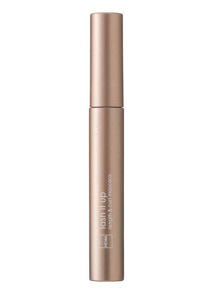 length & curl mascara ultrablack - 11210077 - HEMA