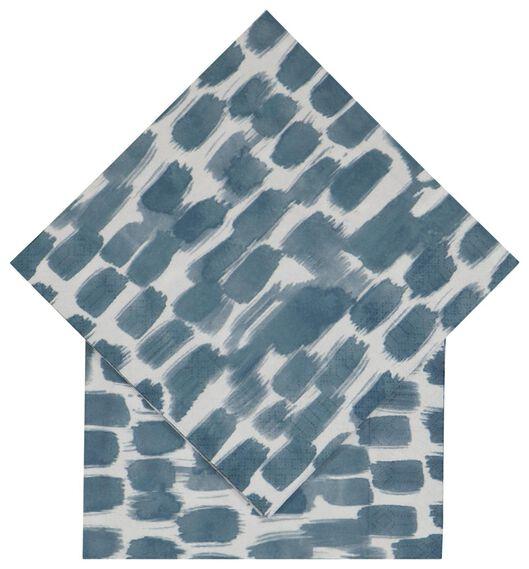 servetten 33x33 papier verf - 20 stuks - 14200457 - HEMA