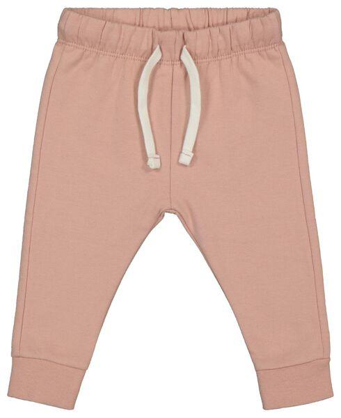 baby sweatbroek roze 62 - 33010041 - HEMA