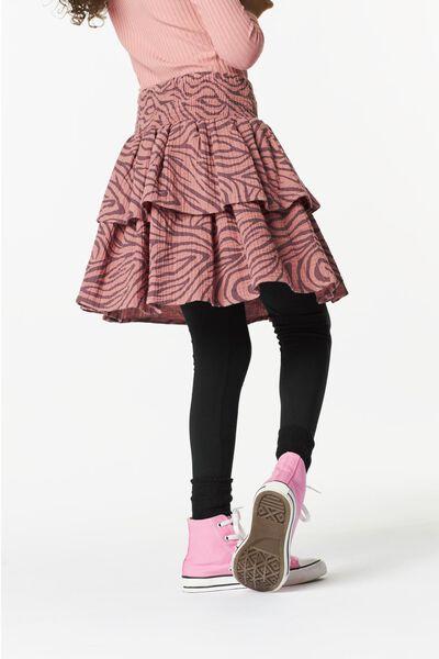 kinderrok volant roze roze - 1000024959 - HEMA