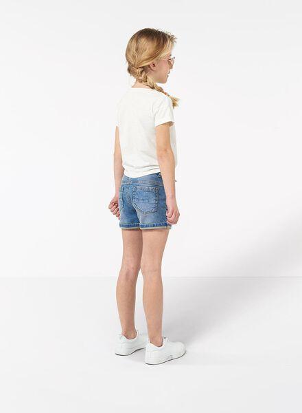 kinder t-shirt gebroken wit gebroken wit - 1000013338 - HEMA