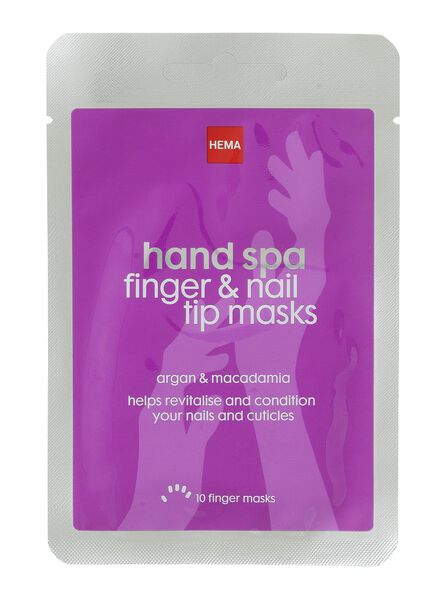 hand spa - finger and nail tip masks - 11315111 - HEMA