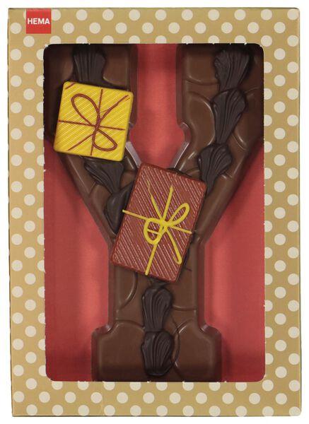 gedecoreerde chocoladeletter gedecoreerd melk gedecoreerd melk - 1000017008 - HEMA