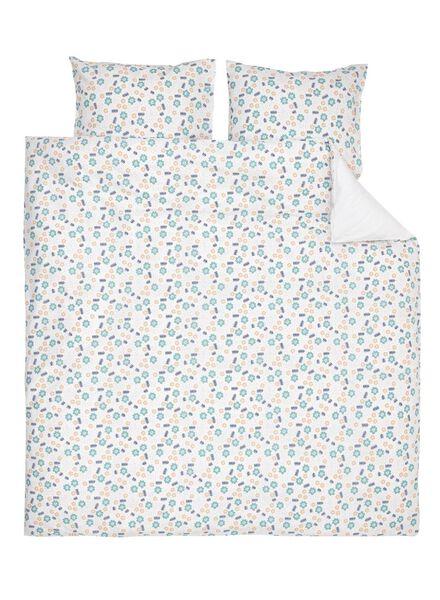soft cotton dekbedovertrek 240 x 220 cm - 5710037 - HEMA