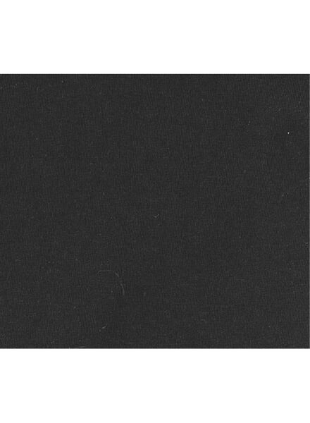 heren t-shirt slim-fit extra lang zwart zwart - 1000005987 - HEMA