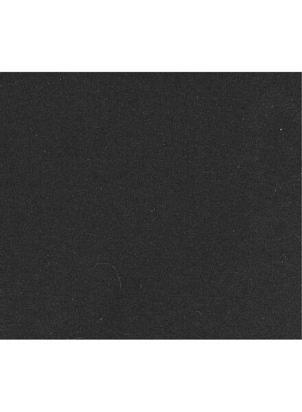 heren t-shirt slim-fit extra lang zwart zwart - 1000005992 - HEMA