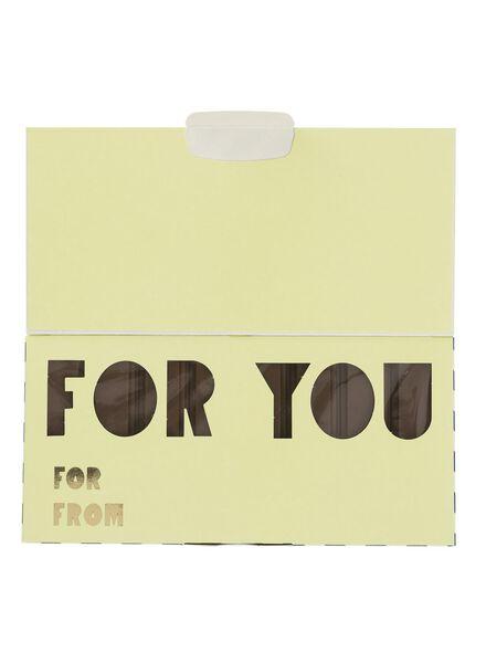 melkchocoladereep for you - 60900191 - HEMA
